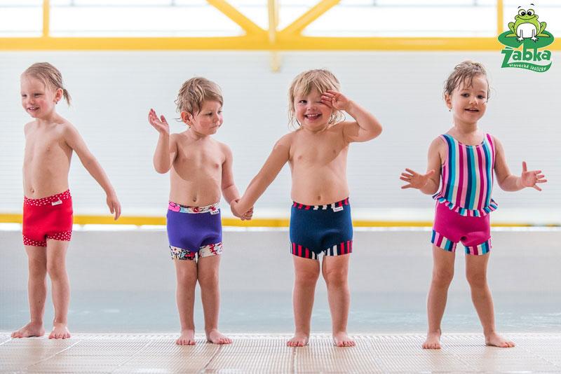 Neoprénové plavky pre detičky